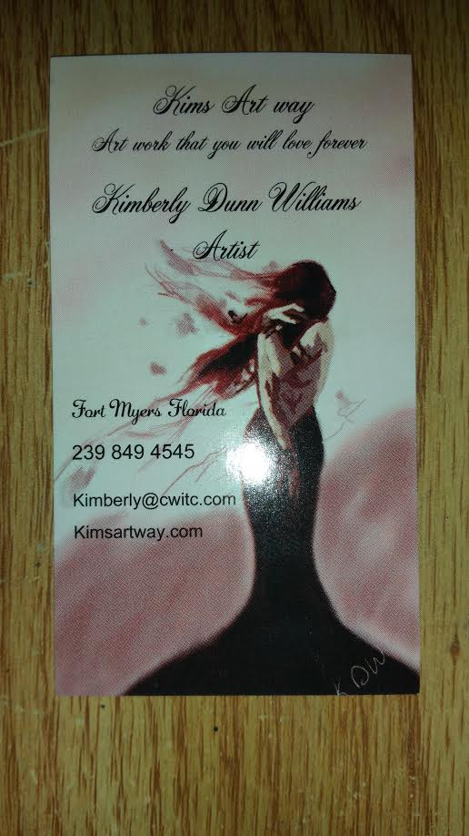 Business Card Sample - Vertical